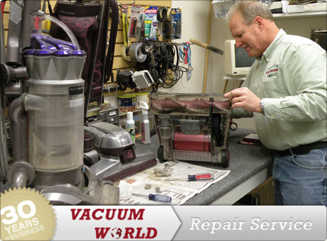 Vacuum World Offers Repair Service, Second To None. Weu0027ll Service Your  Vacuum On Site, Usually In 24 Hours Or Less And Often Weu0027ll Do The Repairs  While You ...